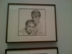 Catherine Deneuve with David Bowie